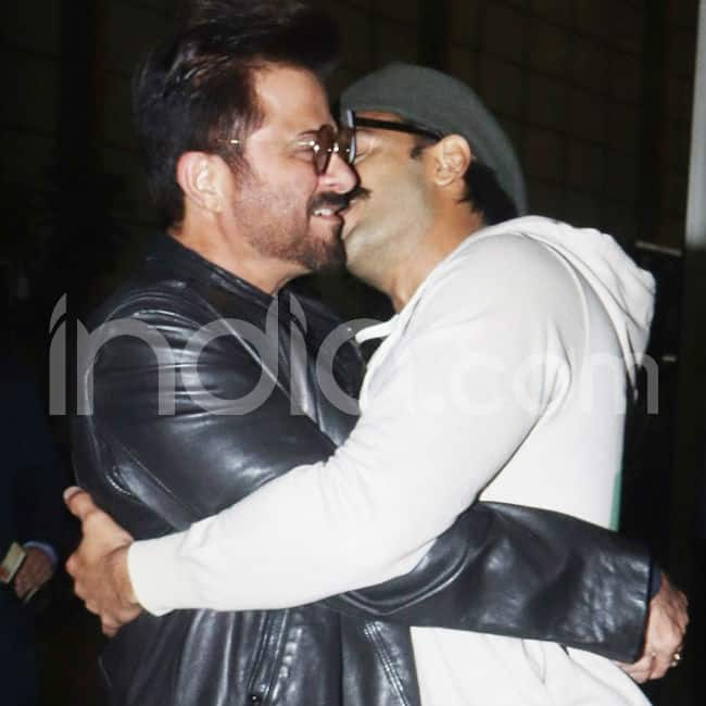 Ranveer Singh and Anil Kapoor meet