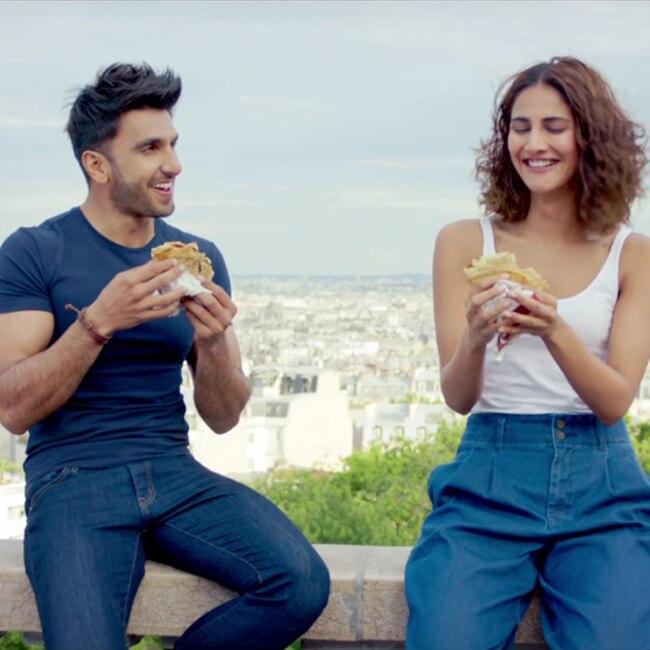 Ranveer Singh and Vaani Kapoor   s sizzling chemistry