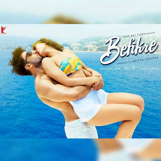 Ranveer Singh and Vani Kapoor share another steamy kiss in new Befikre poster
