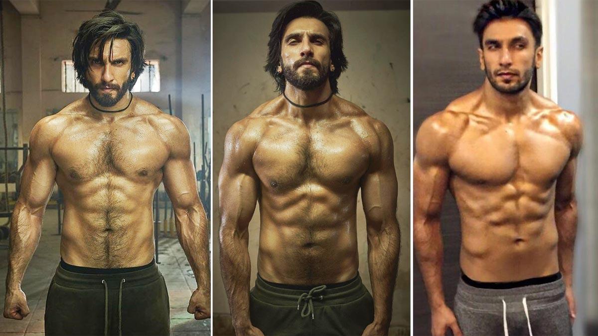 Ranveer Singh Flaunts His Chiseled Body In Shirtless Photoshoot