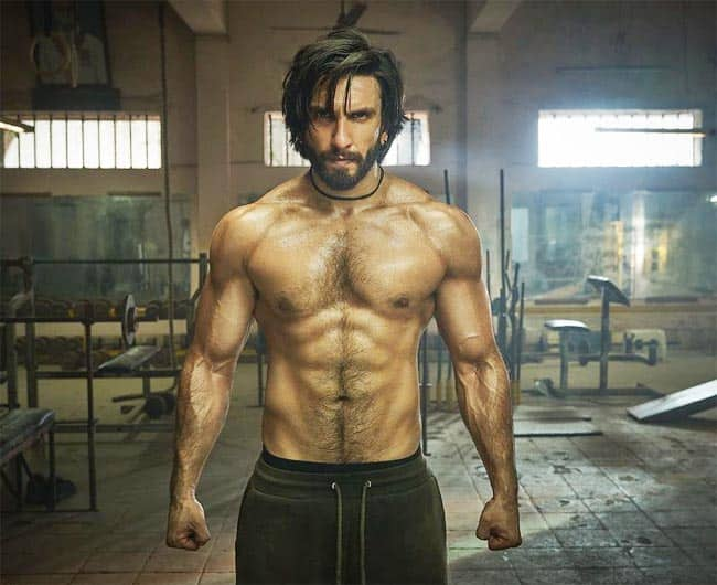 Ranveer Singh Ripped Physique Leaves Internet Into Meltdown