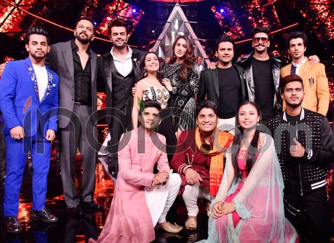 Ranveer Singh  Sara Ali Khan Promote Simmba on Indian Idol