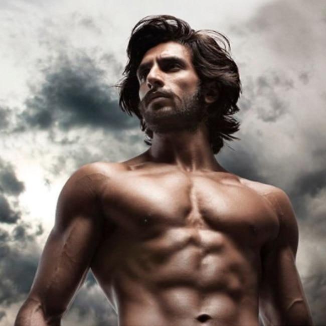 Ranveer Singh   s shirtless picture