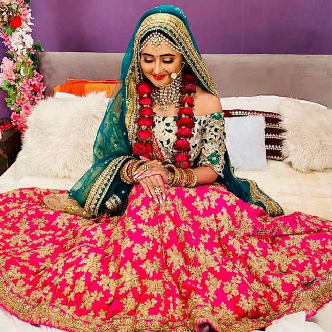 Rashami Desai bridal look from Naagin 4