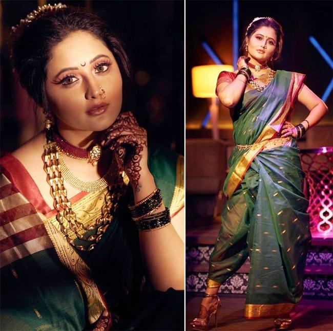 Rashami Desai turns into a Maharashtrian bride in new photoshoot