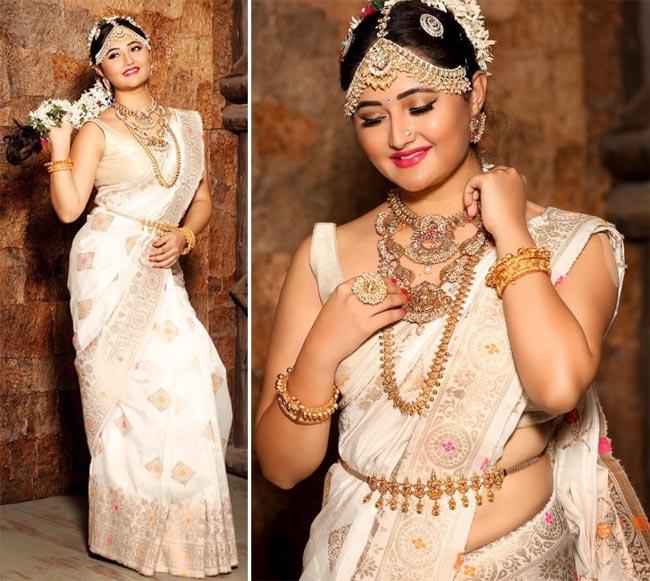 Rashami Desai Turns South Indian Bride