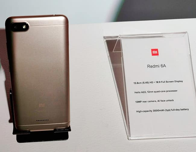Redmi 6A  Back