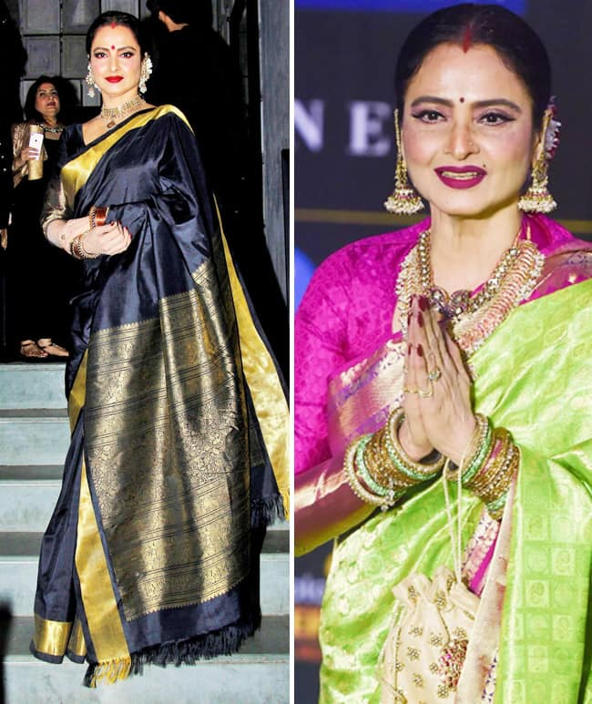 Rekha the fashion goddess of the industry