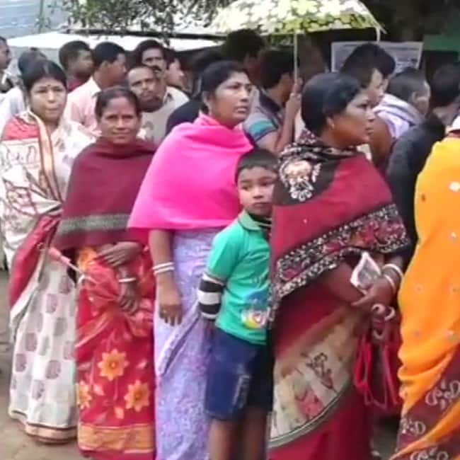 Repolling concluded in Tripura