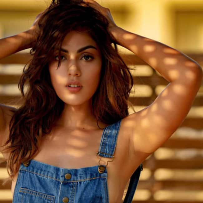 Rhea Chakraborty goes almost topless for a sultry photo shoot