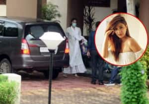 PICS: Rhea Chakraborty Summoned by CBI, Arrives at Guest Office on Friday Morning