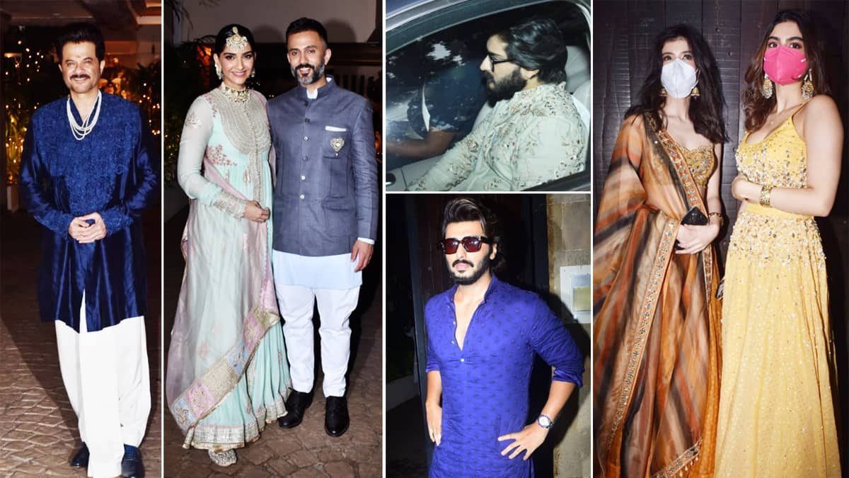 Rhea Kapoor Karan Boolani wedding  Check out all the pictures here