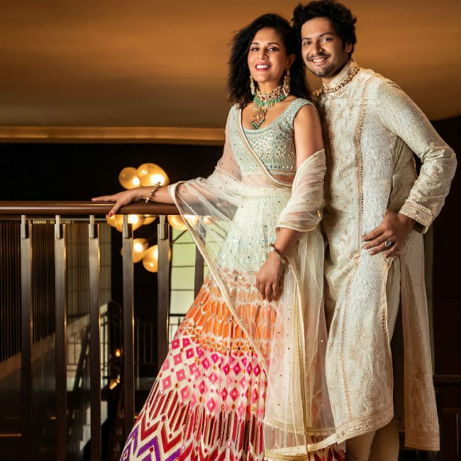 Richa Chadha Ali Fazal wedding photoshoot