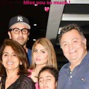 Riddhima Kapoor Shares New Pictures in Memory of Father Rishi Kapoor After Prayer-Meet