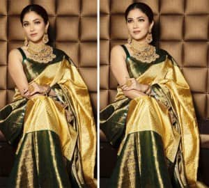 Ridhima Pandit's Look in a Gorgeous Saree And Bridal Jewellery is a Cue For All Brides-To-Be