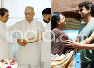 Celebs Pay Their Last Respects to Legendary Musician Khayyam
