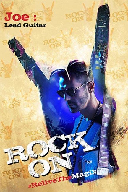 Rock On 2    poster starring Arjun Rampal