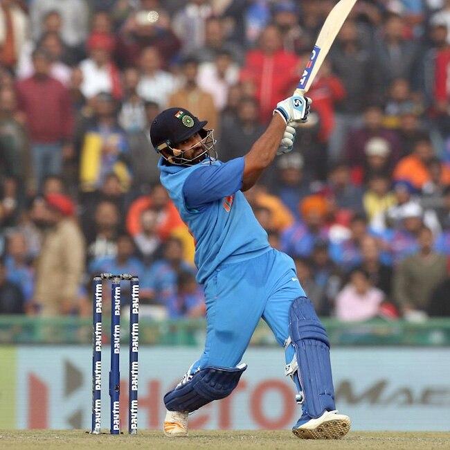 Rohit Sharma slams His third double century in ODIs