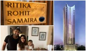 Rohit Sharma-Ritika Sajdeh's Rs 30 Cr Luxurious Four-Bedroom Apartment in Worli Will Blow Your Mind
