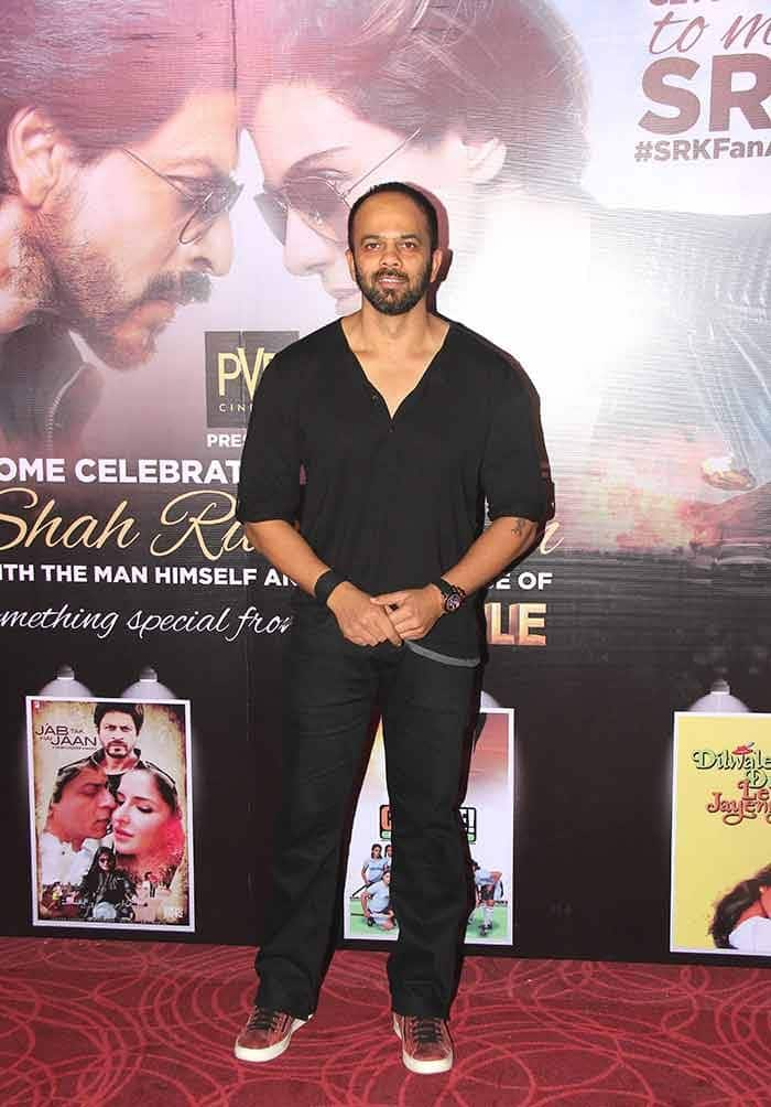 Rohit Shetty at Dilwale sneak preview launch
