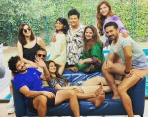 Bigg Boss 14 Winner Rubina Dilaik, Husband Abhinav Shukla Shares Hearty Laugh With Their F.R.I.E.N.D.S