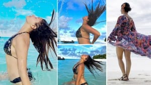 Rubina Dilaik Looks Her Sexiest Best As She Flaunts Her Perfect Hair Flip In Latest Pics