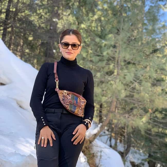 Rubina Dilaik  The Beauty in Black