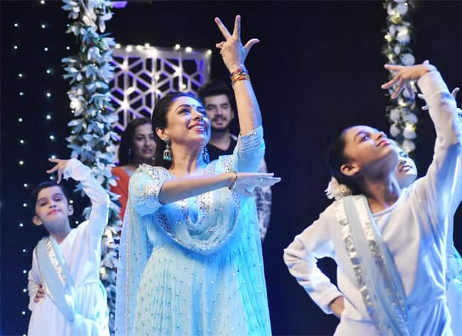 Rupali Ganguly Impresses Fans With Her Dancing Talent