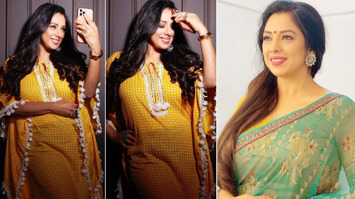 Rupali Ganguly looks like a ray of sunshine in yellow attire