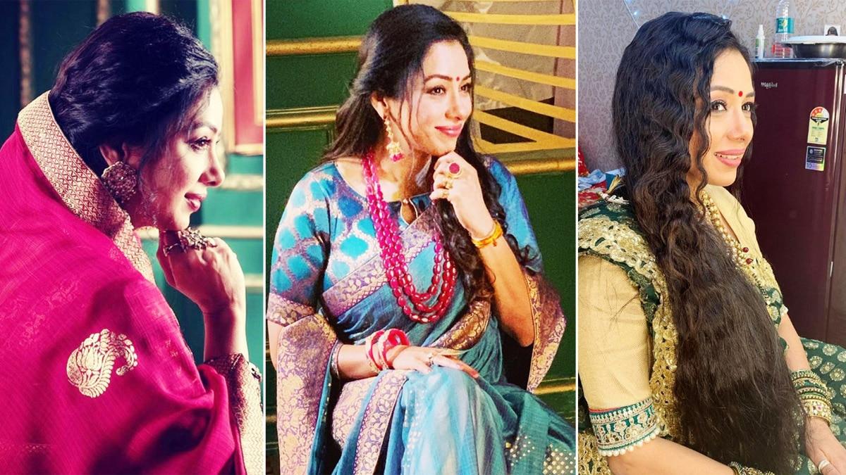 Rupali Ganguly looks stunning in new avatar as Anupama