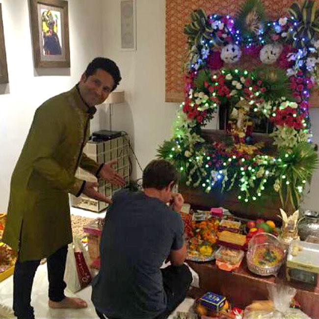 Sachin Tendulkar brings Bappa home on the occasion of Ganesh Chaturthi