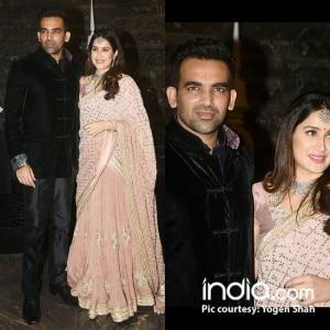 Sneak-peek into Sagarika Ghatge and Zaheer Khan's star studded wedding party