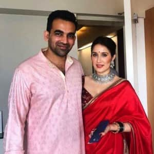 First pictures of newlyweds Zaheer Khan and Sagarika Ghatge are here