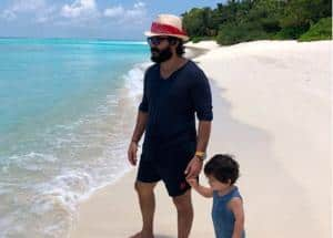 Taimur Ali Khan's Vacation Pictures