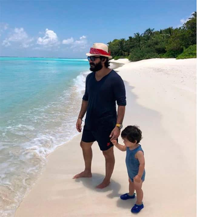 Saif and Taimur   s picture is too cute to handle