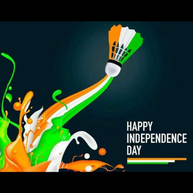 Saina Nehwal wishes everyone Happy Independence Day