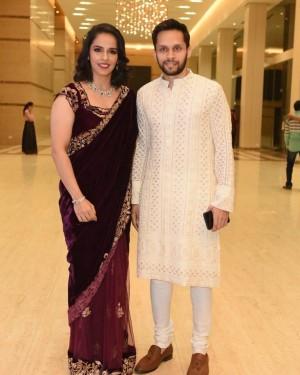 Saina Nehwal Looks Stunning as She Slays in a Saree | SEE PHOTOS
