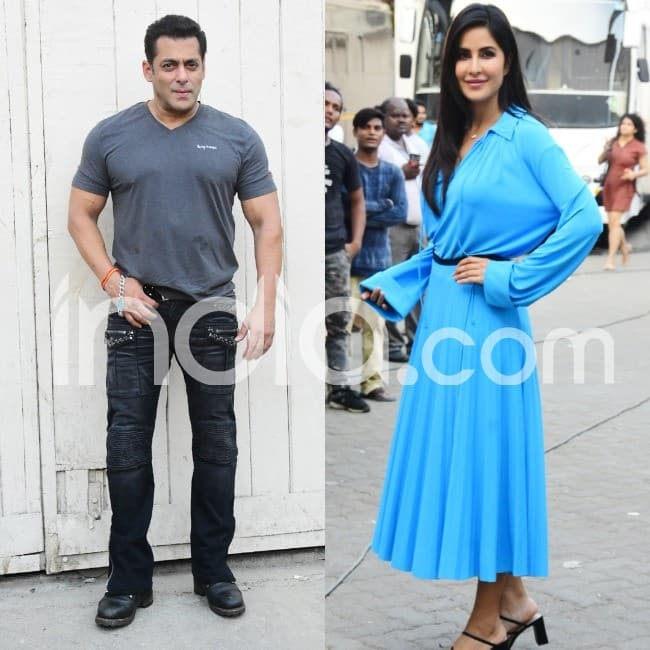 Salman Khan and Katrina Kaif s promotion look