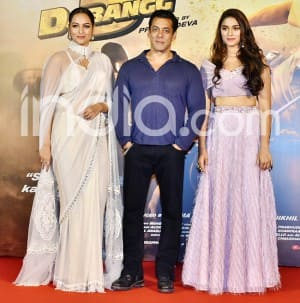 Dabangg 3 Trailer Launch: Salman Khan, Sonakshi Sinha, Saiee Manjrekar Style up at Their Best Outfit