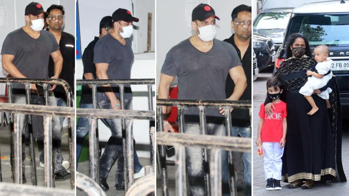 Salman Khan gets his COVID jab on Eid