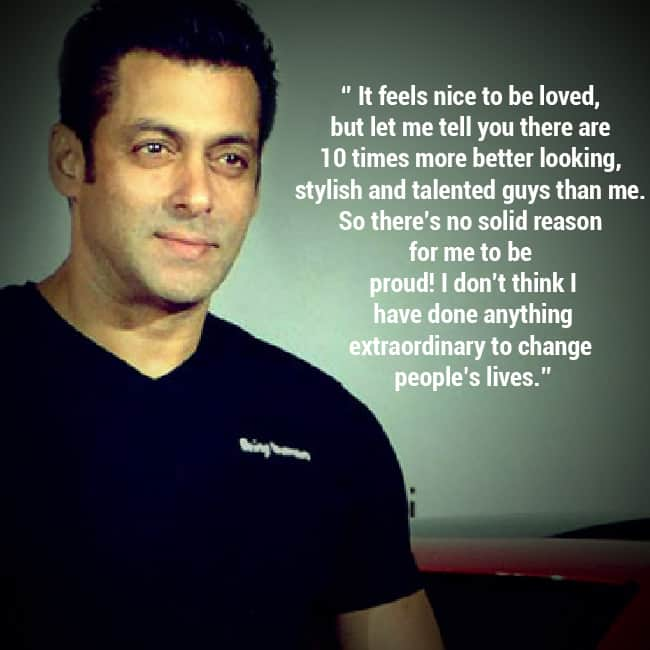 Quotes By Famous Indian Personalities: 10 Inspirational Quotes By Salman Khan