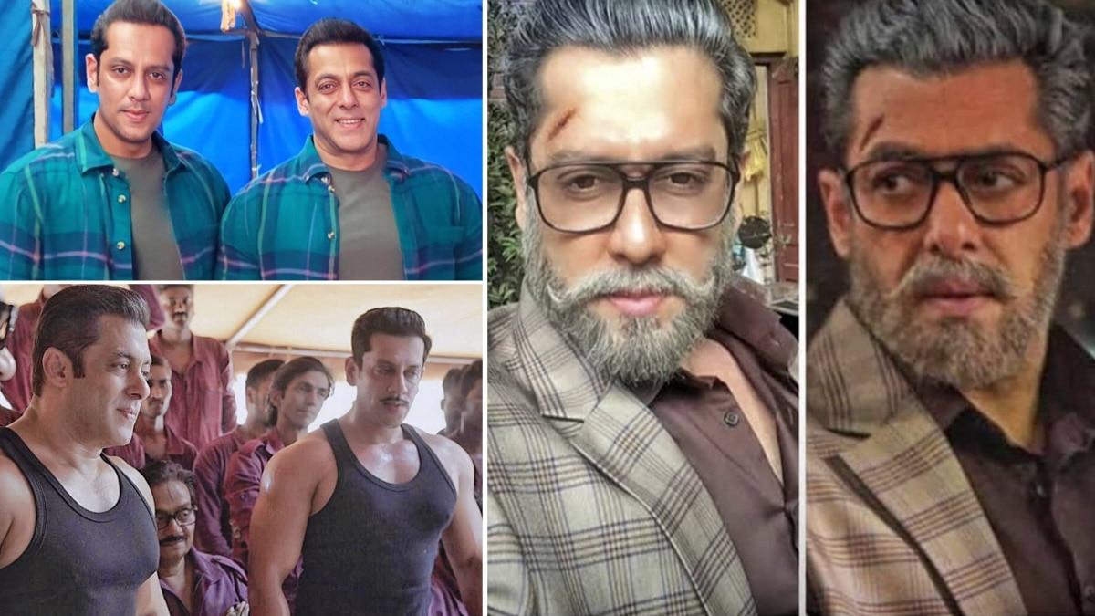 Salman Khan   s Body Double Parvez Kazi Shares Picture With Actor