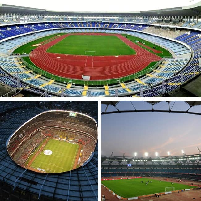 Salt Lake Stadium in Kolkata