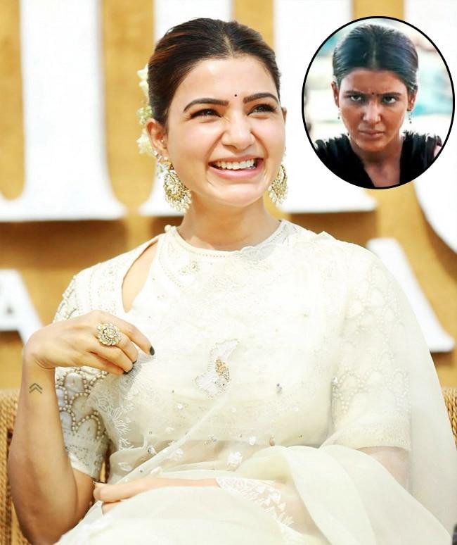 Samantha Akkineni Flaunts Her Contagious Smile in Beautiful White Saree