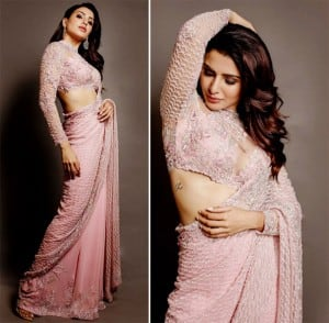 South Indian Actor Samantha Akkineni Makes Style Statement in a Pastel Pink Saree at The Zee Cine Awards 2020, Leaves Fans Drooling Over Her Instagram Pictures