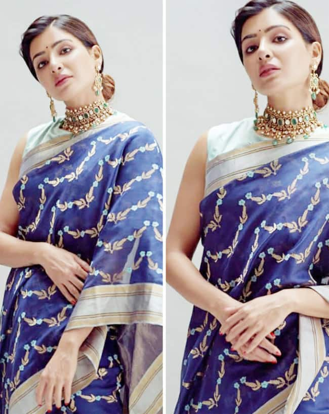 Samantha Ruth Prabhu at Rana Daggubati and Miheeka Bajaj wedding