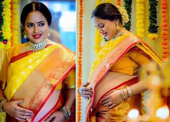 Sameera Reddy s baby shower