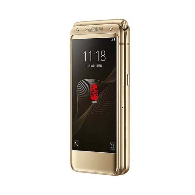 Samsung W2018 flip phone launched in China