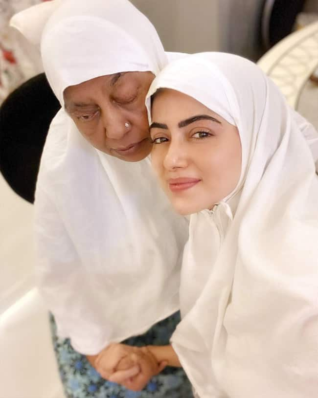 Sana Khan is full of hope in the month of Ramadan