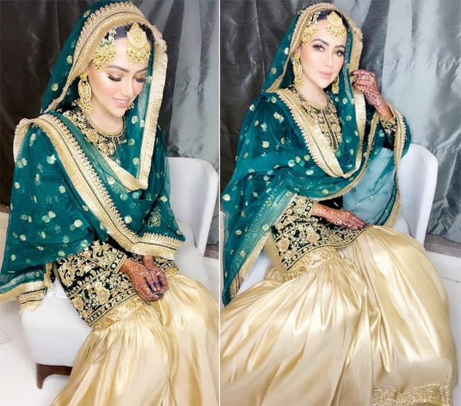 Sana Khan shares pictures from her Nikaah